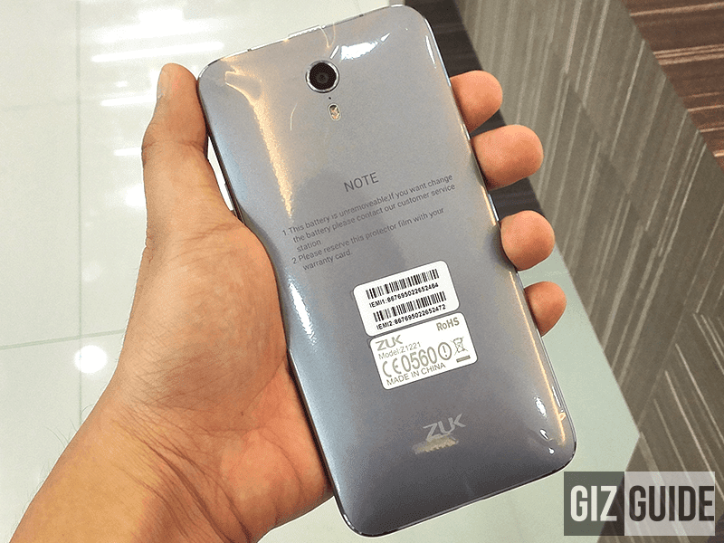 Lenovo Backed ZUK Z1, Spotted In Philippine Stores, It Looks Stunning In Person!