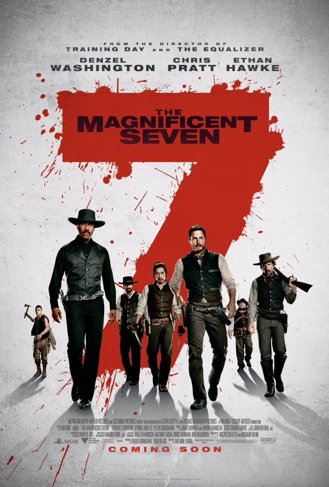 The Magnificent 7 (2016) Movie Download In Hindi 300MB Worldfree4u