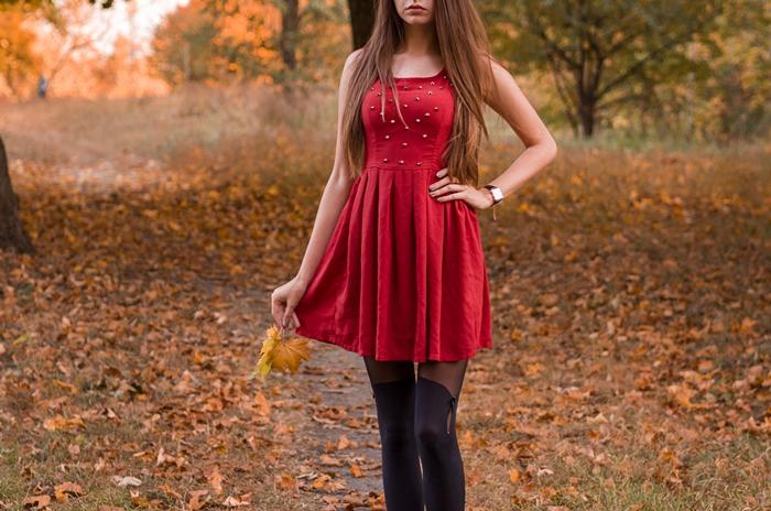 jaką sukienkę na jesień