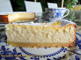 Baked Ricotta Lemon Sugar Cake No Flour
