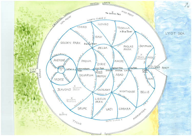 O harta a Makkathran-ului