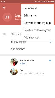 Cara Membuat Grup di Aplikasi Telegram 8
