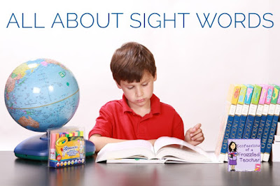 All About Sight Words - What Are They, Which One to Use, and How Do I Track Student Progress?