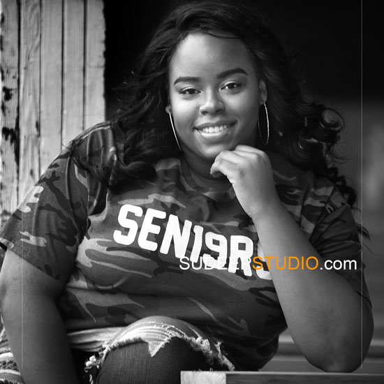 Ann Arbor Senior Pictures Photographer Huron High School Plus Size Girls Senior Portraits Ideas Urban theme SudeepStudio.com