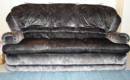 The Sofa Is Old, A Bit Saggy And Has Lived In Three Countries (how Many  Sofas Have Endured A Cargo Ride Across The English Channel, The Atlantic  And Lived ...