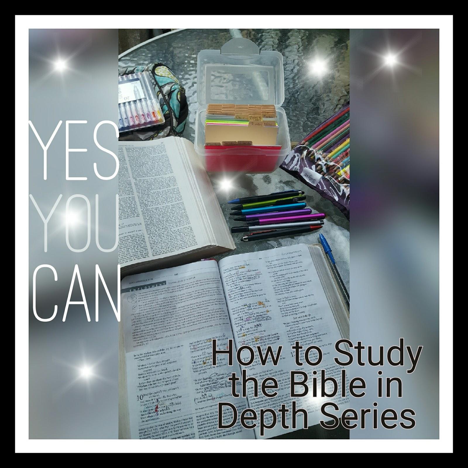 Becoming Blameless: Fervent Online Bible Study