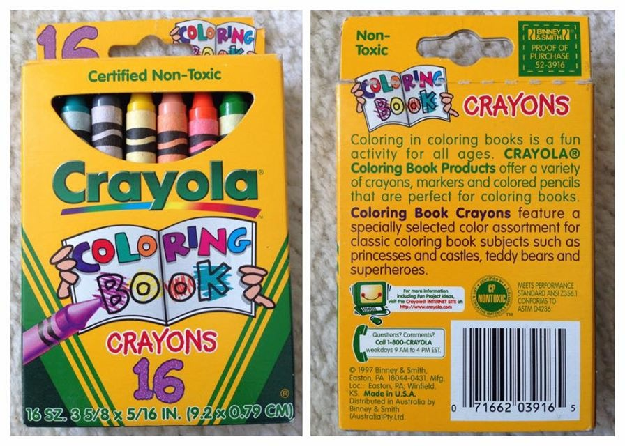 Coloring Book Crayons And Markers What S Inside The Box