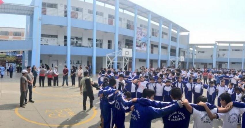 Cerca de 360 mil escolares realizarán el 12 de junio simulacro de sismo en Arequipa