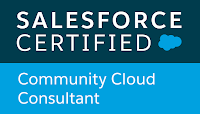 Salesforce Certified Community Cloud Consultant verification for Richard Upton