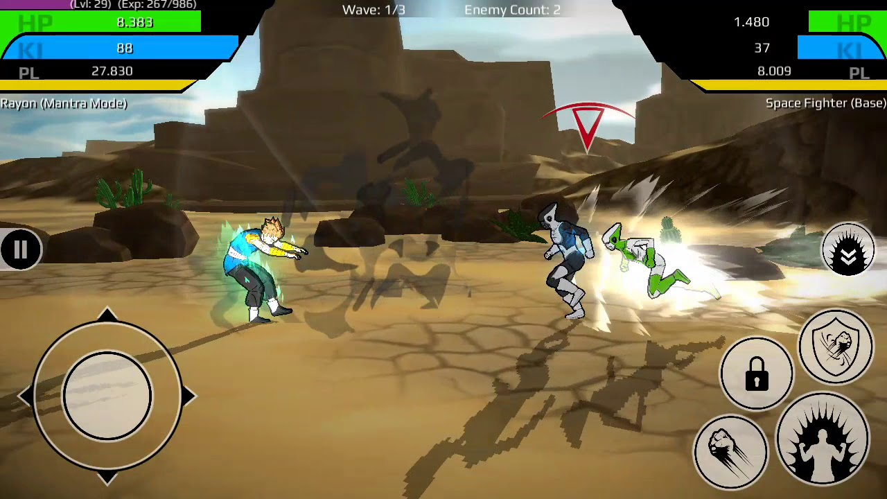 The Final Power Level Warrior APK mod terbaru