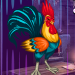 Play Games4King Rooster Escape