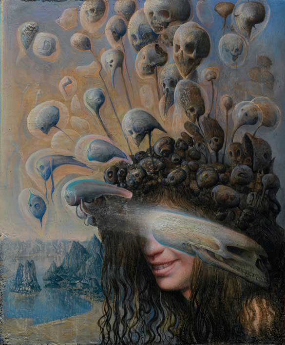 Agostino Arrivabene 1967 | Visionary italian painter