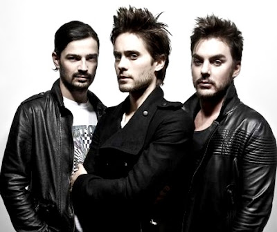 Foto de 30 Seconds To Mars posando