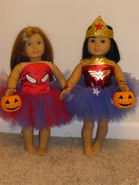 halloween, costume, spiderman, spider girl, wonder woman, trick or treat, holiday