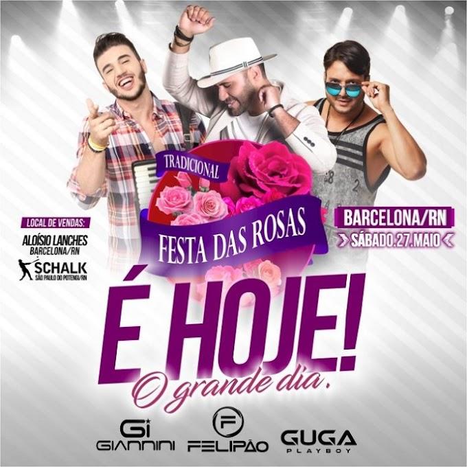 É hoje dia (27) a melhor festa das Rosas do RN em Barcelona