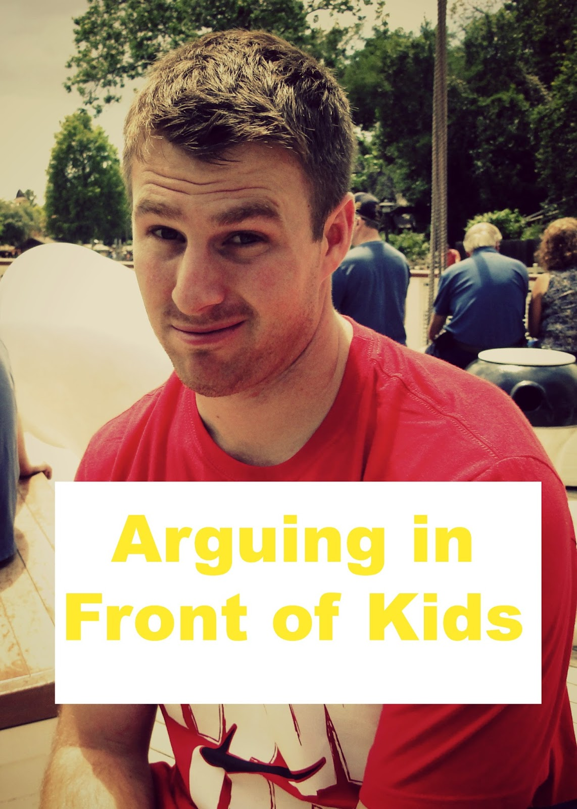 Arguing in Front of the Kids