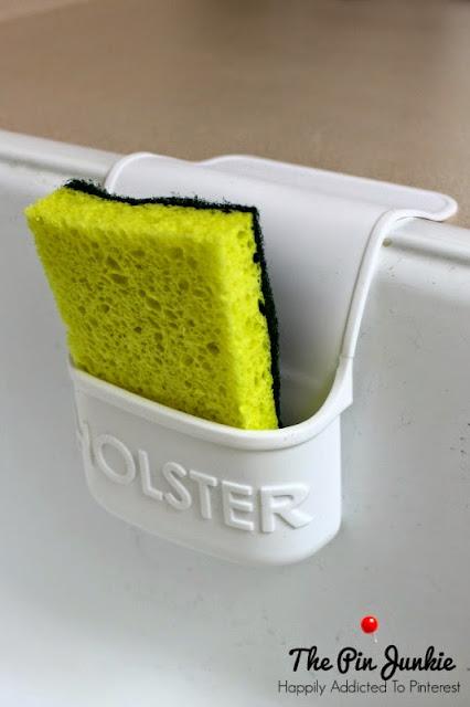 sponge holder kitchen sink