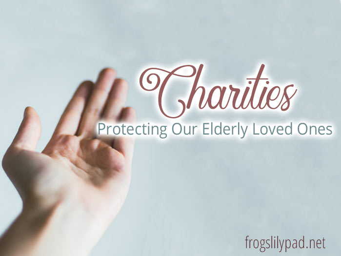 Charities: Protecting Our Elderly Loved Ones From Scammers Series #charities #fraud #scams #family