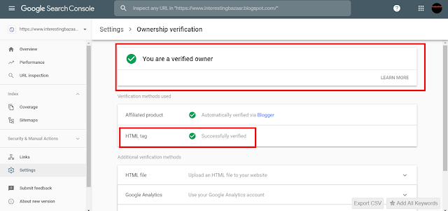 New Google webmaster tool full guide and SEO tips