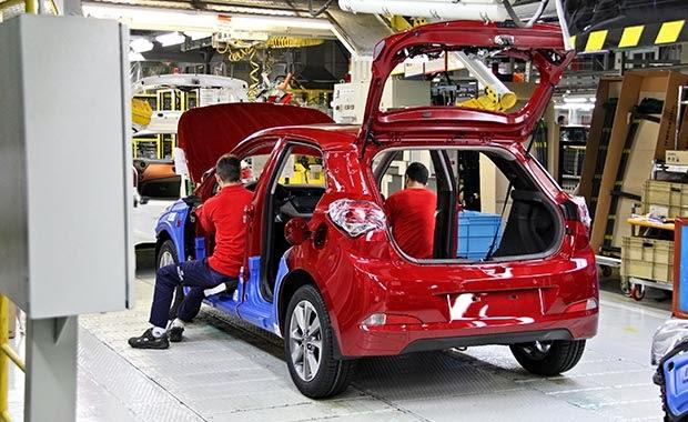Yeni Hyundai'nin  üretimi başladı