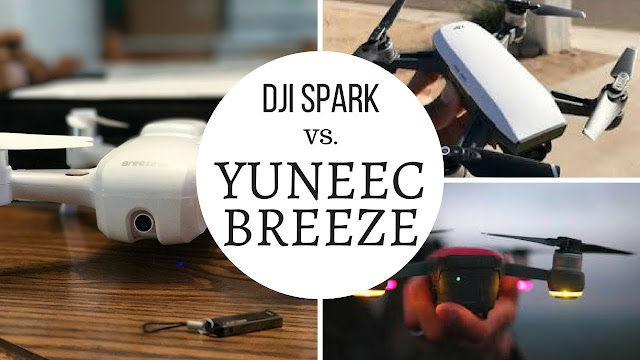 Every drone users guide maintain already know the final drone or Dji the  Dji Spark Vs Yuneec Breeze Comparison