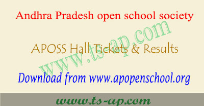APOSS hall tickets 2019-2020 download Mnabadi
