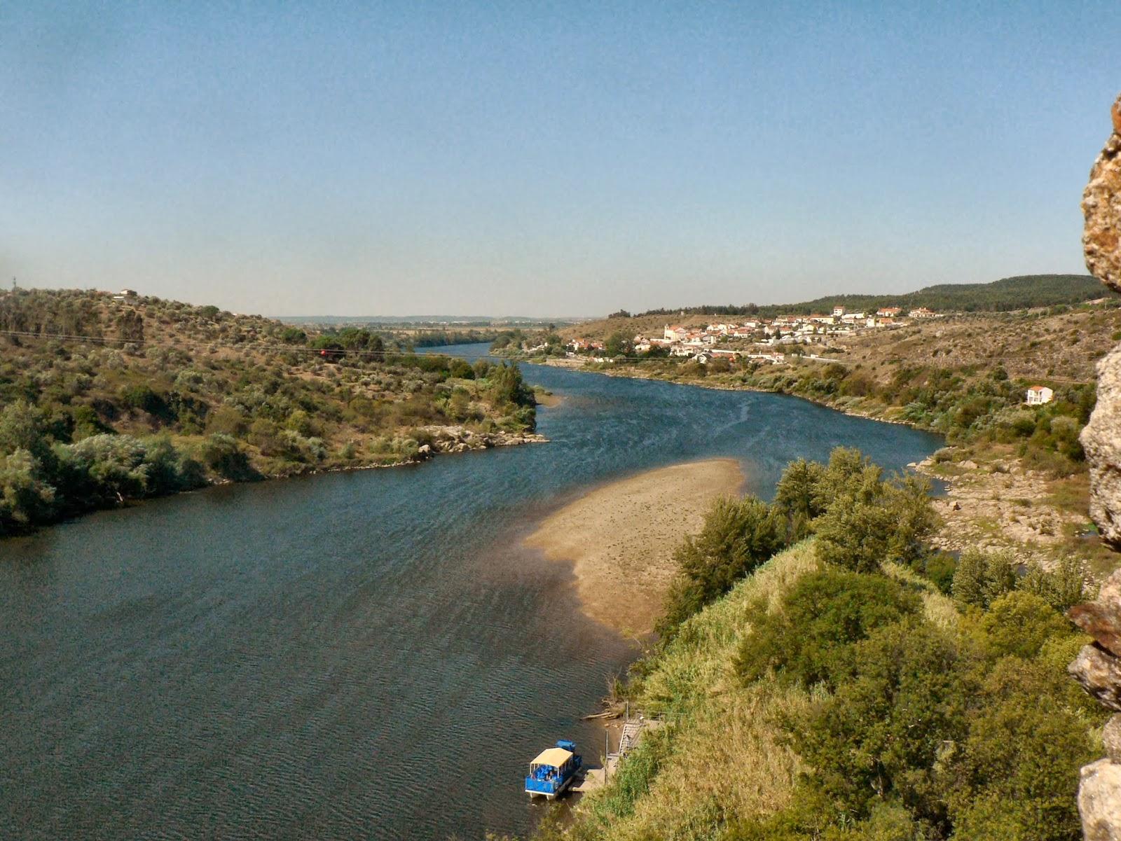 Rio Tejo, Rio da Espanha e Portugal
