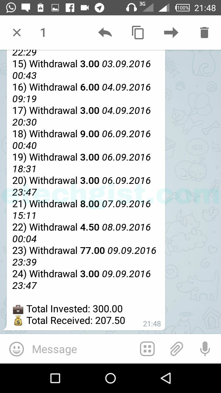 How to make money from Telegram Bot Larawithme - 100% Legit