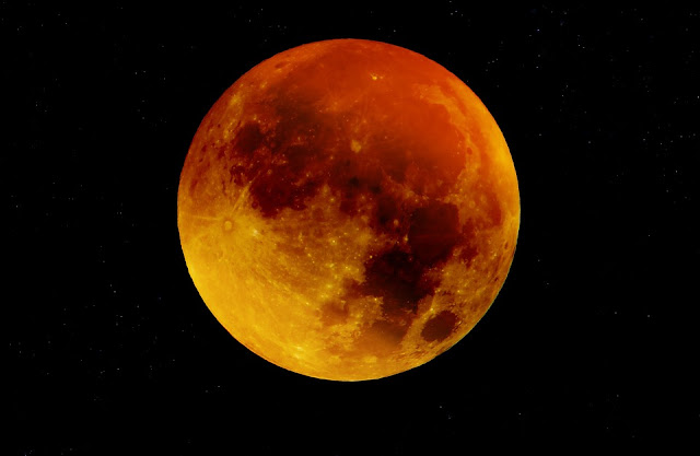 A blood moon is a common occurrence. A tetrad of them less so. Neither means the end of the world.
