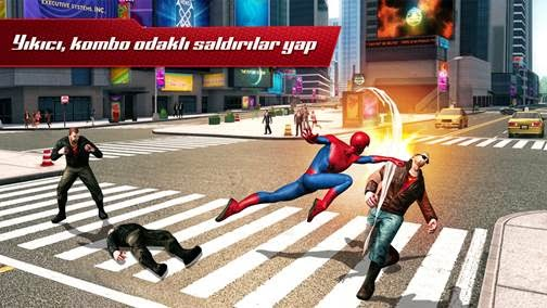 the amazing spiderman 2 mobil oyun