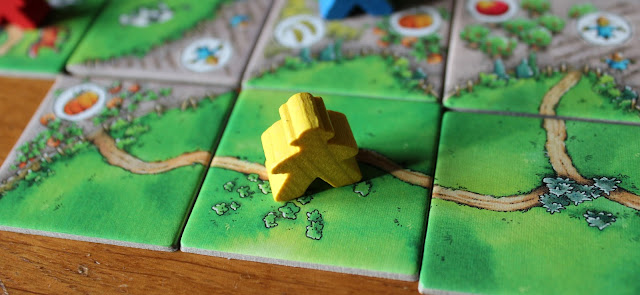Carcassonne: Over Hill and Dale completed road