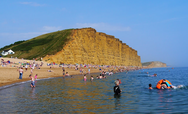 West Bay Beach, Dorset
