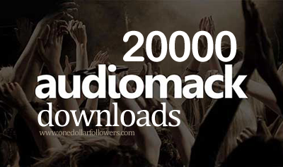 Buy 20000 Audiomack Downloads