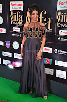 Sanjjanaa Galrani aka Archana Galrani in Maroon Gown beautiful Pics at IIFA Utsavam Awards 2017 15.JPG