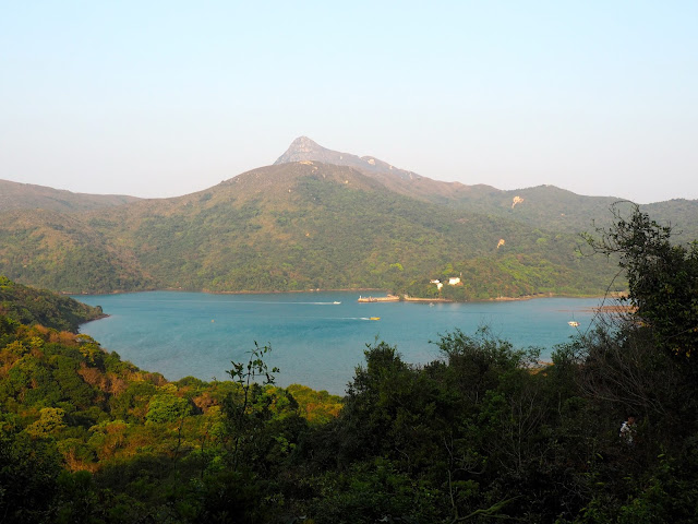 Coastal landscape views on the trail to Pak Tam Au from Tai Long Wan, Hong Kong