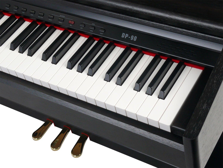 review of classic cantabile dp 90 rh digitalpiano rosenholz james musical instrument reviews. Black Bedroom Furniture Sets. Home Design Ideas