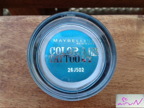 color tattoo turquesa maybelline