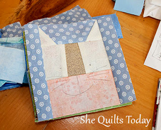 Cat paper piecing pattern