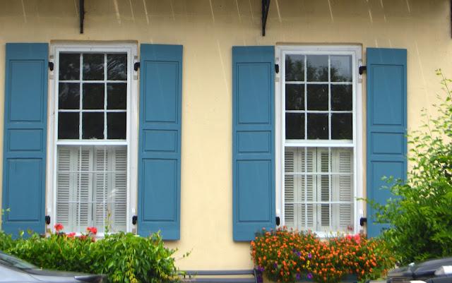 Pretty Window, Shutters, Window Boxes