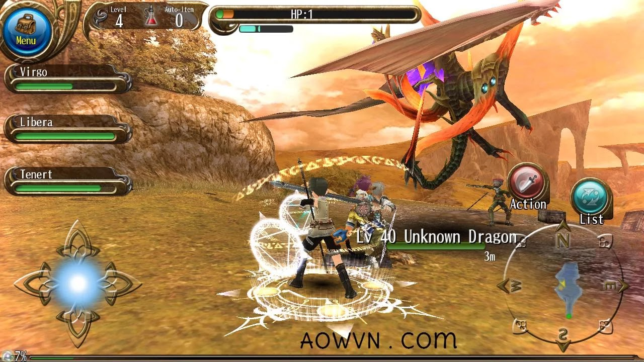 toram aowvn2 - [ HAY ] Toram Online - siêu phẩm MMORPG cực hay cho Android & IOS
