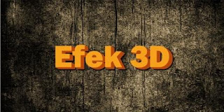 Cara Membuat Efek Tulisan 3D Keren di Photoshop CS3