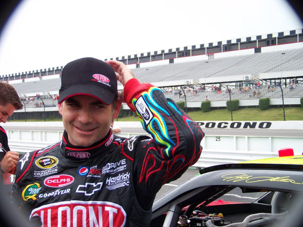 Jeff Gordon In The Black Ss With Navigation 110