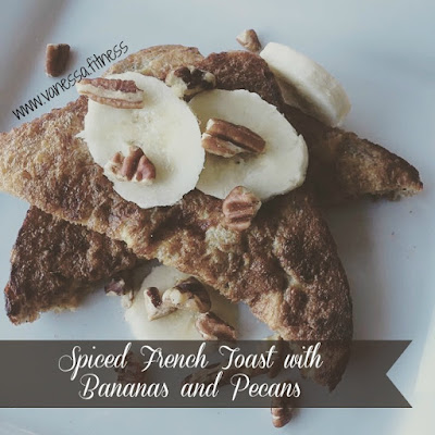 Spiced French Toast, Country Heat, 21 Day Fix, Clean Eating, Autumn Calabrese, vanessa.fitness, vanessadotfitness, Tosca Reno