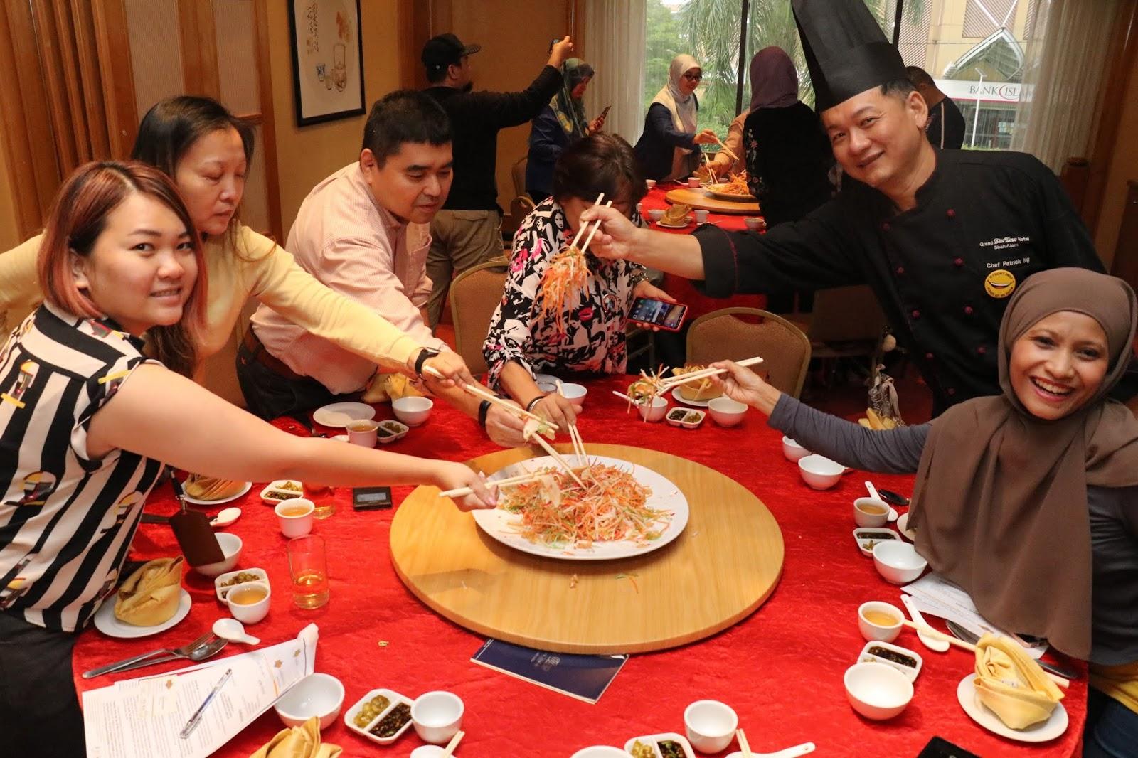 Menu Tahun Baru Cina 2019 Grand BlueWave Hotel Shah Alam