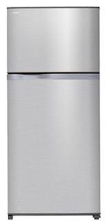 الثلاجة توشيبا 2 باب سعة 657 لتر