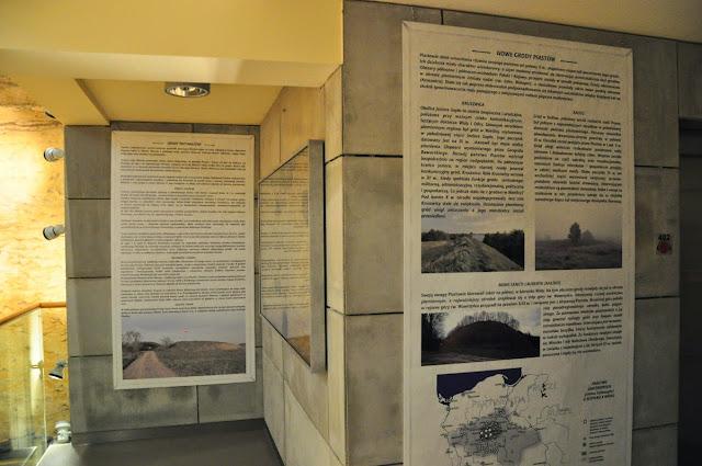 wystawa Kraina Grodów w Rezerwacie Archeologicznym Genius Loci