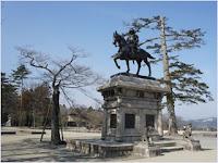 อนุสาวรีย์ดาเตะ มาซามุเนะ - ปราสาทเซ็นได (Sendai Castle)