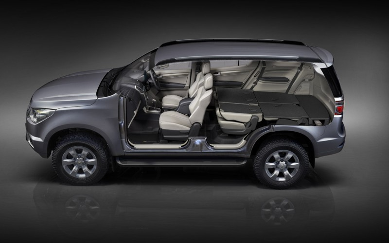 Production Chevrolet Trailblazer Debuts in Bangkok ...