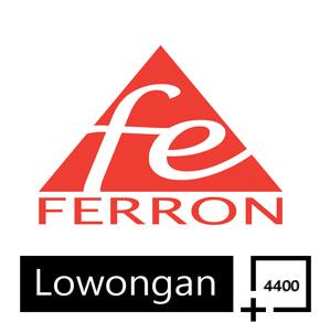 Lowongan PT Ferron Par Pharmaceuticals