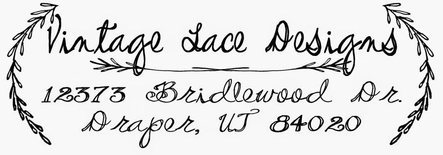 Vintage Lace Designs: Return Address Stamps